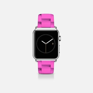Links pink Apple Watch Band (38mm) by WAMDESIGN | Casetify