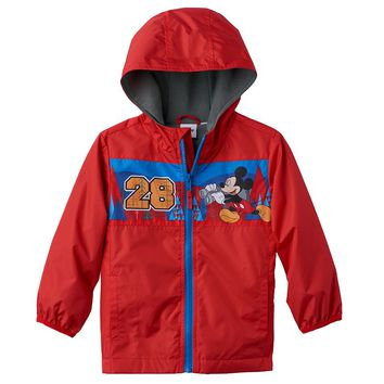 Disney's Mickey Mouse ''28'' Windbreaker Jacket - Toddler Boy, Size: