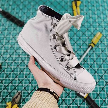 Converse Chucks Sisters All Star Plts Satinpoint OX Silver - Best Online Sale