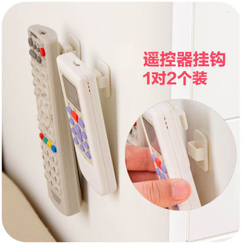 vanzlife paste home remote control storage hooks air conditioning remote control television separate hanging organising hooks