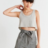 Project Social T Super Cropped Tank Top | Urban Outfitters
