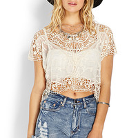 Wanderer Crochet Mesh Top