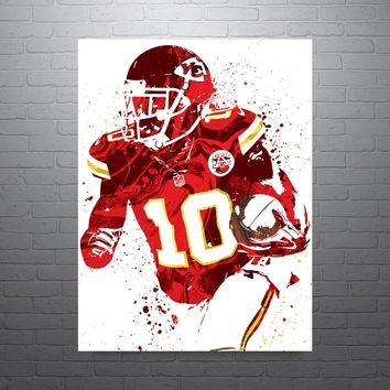 Tyreek Hill Kansas City Chiefs Poster