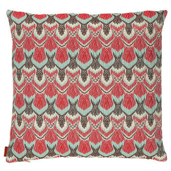 Tacoma Cushion Cover with Feather-Filled Pad - Missoni Home | WOMEN | US STYLEBOP.COM