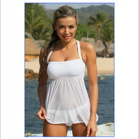 Sheer Thong Tankini