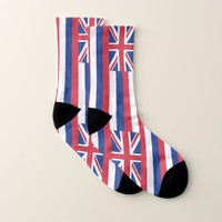All Over Print Socks with Flag of Hawaii