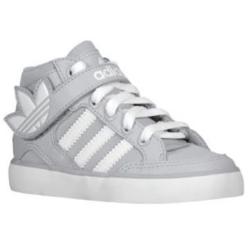 adidas Originals Hard Court Hi Strap - Boys' Toddler at Kids Foot Locker