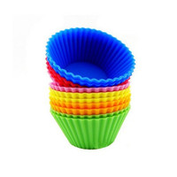 Hot Sale Stylish Kitchen Helper On Sale Hot Deal Home Easy Tools Cute Silicone Cup Heart-shaped Mould [6033500545]