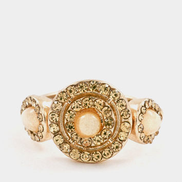 Triple Stone Statement Ring