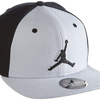 Air Jordan Jumpman Snapback Cap (Wolf Grey/Black)
