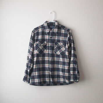 Vintage 70's Pendleton Wool Flannel Shirt