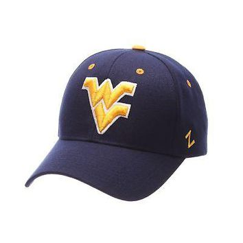 Licensed West Virginia Mountaineers Official NCAA Competitor Adjustable Hat Cap by Zephyr KO_19_1