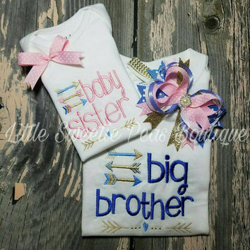 Big Brother Baby Sister set