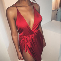 2016 Summer Style Dress Elegant Women Halter Blackless Sexy Split bodycon dresses Strapless Clubwear Party Dress vestidos