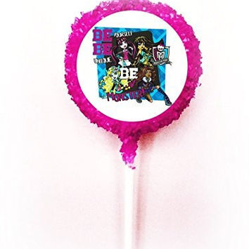 MONSTER HIGH BE YOURSELF White Chocolate Covered Oreo Cookies