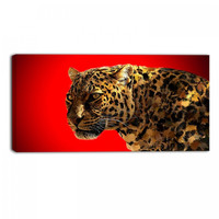 Red Eyes On You Animal Canvas Wall Art Print