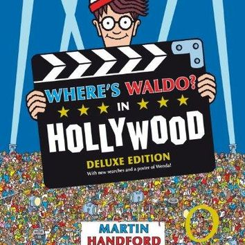 Where's Waldo? in Hollywood Where's Waldo? DLX REP