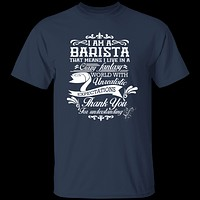 Barista Fantasy World T-Shirt