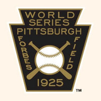 1925 MLB World Series Pittsburgh Pirates Champions Patch