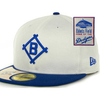 Brooklyn Dodgers MLB Cooperstown Patch 59FIFTY Cap