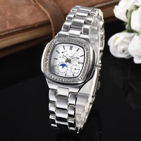8DESS Patek Philippe Woman Men Fashion Quartz Movement Wristwatch Watch