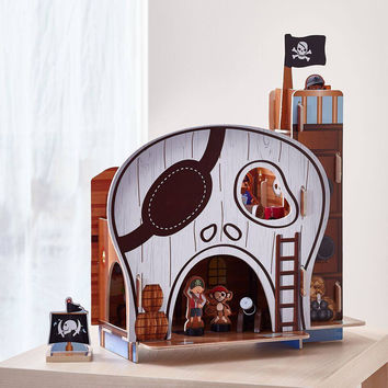 Teamson Kids - Pirate Table Top Play Centre