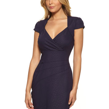 GUESS Midnight Navy Cap Sleeve Emily Dress