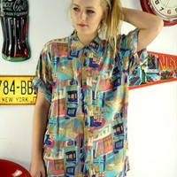 Vintage 90's Fresh Prince Oversize Shirt from The Vintage Scene