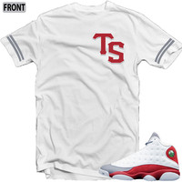 Revolt Apparel Trend Setter Grey Toe 13's White Tee