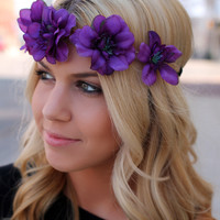 Passion for Floral Headband