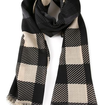 Rag & Bone 'Buffalo Check' scarf