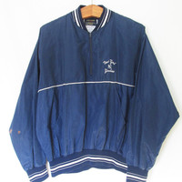 Vintage New York Yankees Pullover Windbreaker Jacket