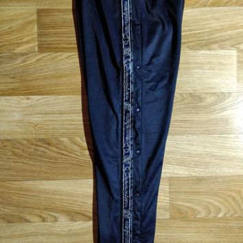 Champion USA 90's Vintage Full Buttons Mens Tracksuit Pants Basketball Trousers
