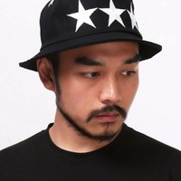 XQUARE Star Embroidered Bucket Hat