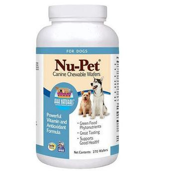 Ark Naturals Nu-Pet Canine Chewable Dog Wafers 90ct