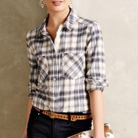 Willow Ridge Buttondown by Holding Horses Blue Motif