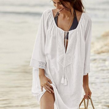 Lacy Loose Cover-Ups Swimwear