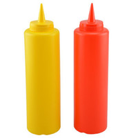 Condiment Hot Sauce Ketchup/Mayo/Mustard Bottle