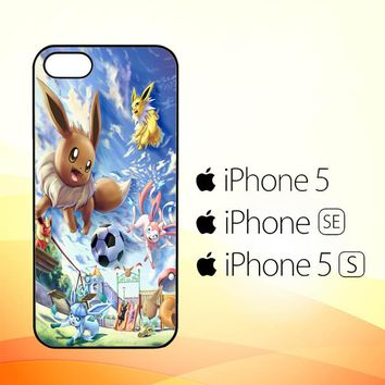Eevee and Umbreon and Espeon X0915  iPhone 5|5S|SE Case