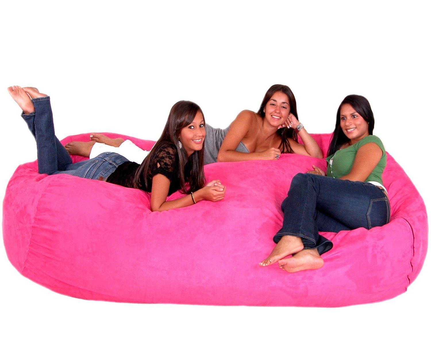 Cozy Sack 8-Feet Bean Bag Chair, X-Large, from Amazon