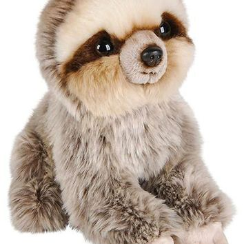 7 Inch Sloth Stuffed Animal Plush Sitting Animal Kingdom Collection