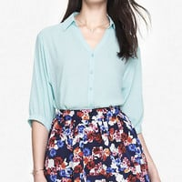 DOLMAN SLEEVE CREPE BLOUSE from EXPRESS
