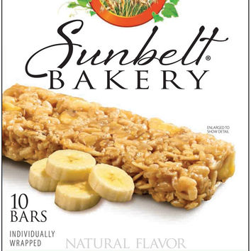 Sunbelt Bakery Banana Harvest Chewy Granola Bars 10 Ct [3 Pack]