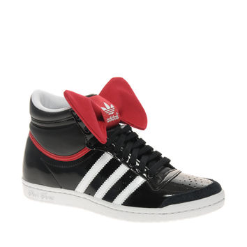 Adidas Top Ten Hi Sleek Night Bow Trainer at asos.com