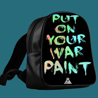Fall Out Boy Put On Your War for Backpack / Custom Bag / School Bag / Children Bag / Custom School Bag ***
