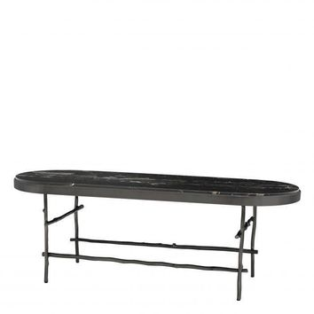 Oval Marble Top Coffee Table | Eichholtz Tomasso