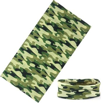 Military Scarf Camouflage Camo Bandana Polyester 25*48cm Paisley Army Headband Face Mask Headscarf Scarves Men