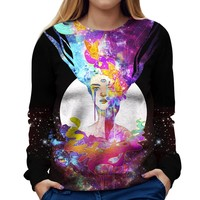 Free Your Mind Womens Sweatshirt