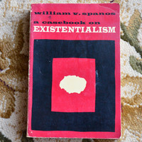 VTG Existentialism Book 1966 Softcover