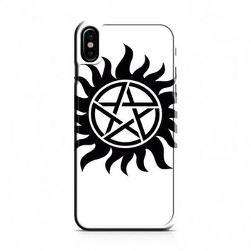 Pentagram Supernatural iPhone X Case